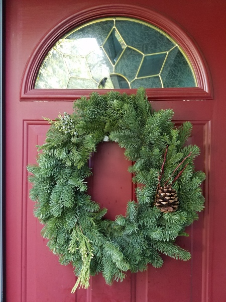 door-with-wreath